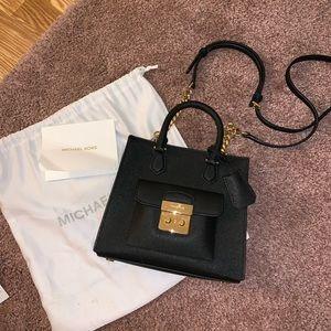 MICHAEL KORS Black Saffiano Crossbody Bag